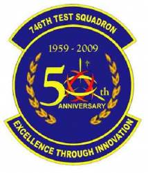 GPS 746th Test Squadron Turns 50