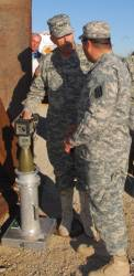 Army Fields GPS-Guided Mortar in Afghanistan