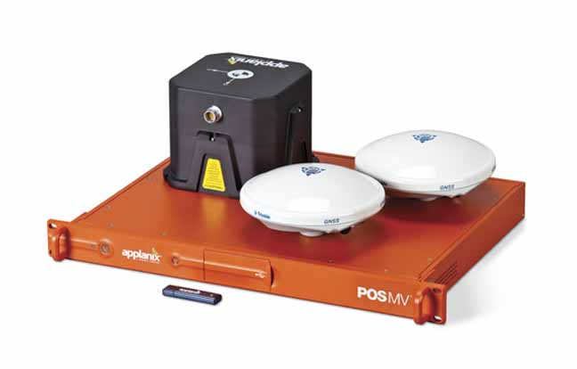 Applanix Launches Version 5 of POS MV GNSS-Inertial Hydrographic Survey System