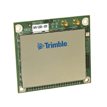 Trimble Announces Integrated Multi-Constellation GNSS, UHF Module for RTK Apps