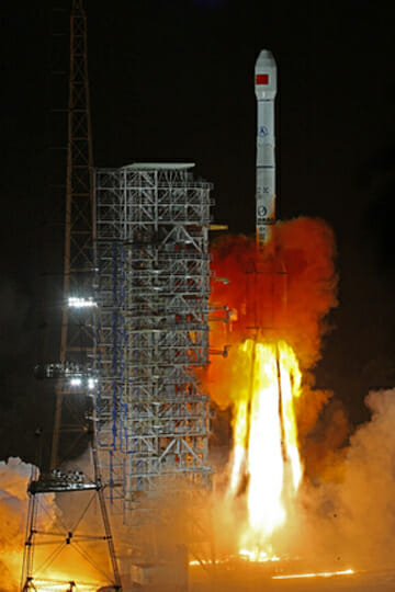 China Begins Broadcasts on Latest Compass GNSS GEO Satellite