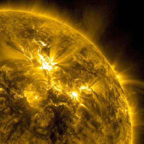 Big Solar Storm, Little GPS Effect