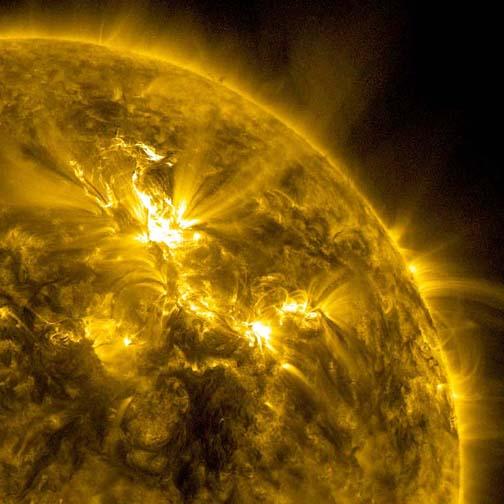 Big Solar Storm, Little GPS Effect