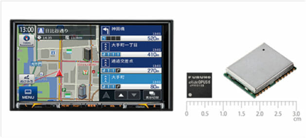 Clarion to Use Furuno's DR/GNSS Module in Navigation System