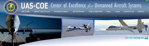 FAA Issues Call for UAS Center of Excellence Contractor