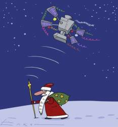 Tracking Santa and Father Frost: GPS or GLONASS