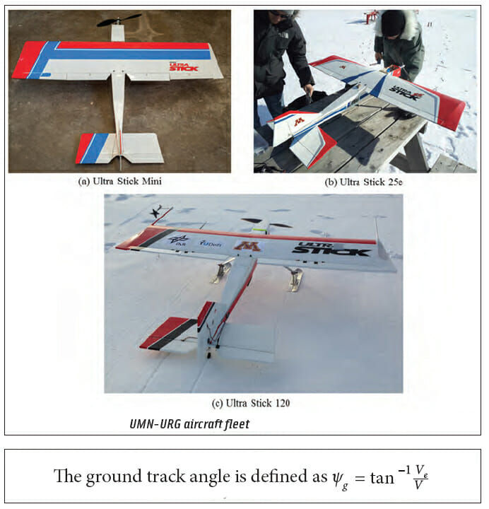 Figures 6 & 7: An Airborne Experimental Test Platform