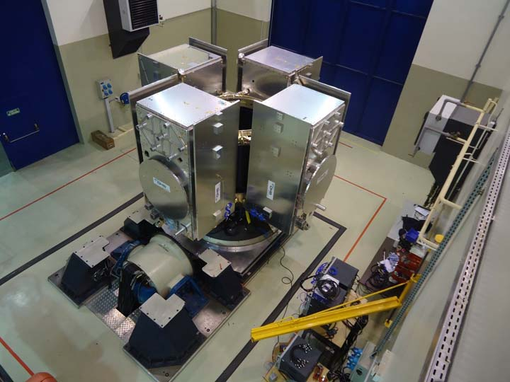 Four-Satellite Launch Dispenser Ready for Europe's Galileo Ride on Ariane 5