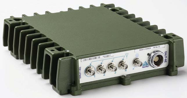 Canadian Army to Test NovAtel's GAJT-AE GPS Anti-Jam Antenna Electronics