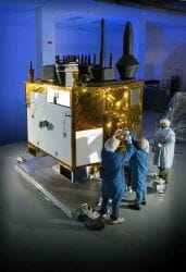 GPS IIF Satellite Advances Through Environmental Tests