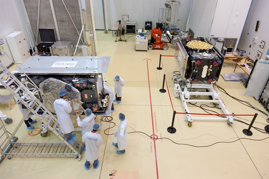GPS, Galileo Launches Near; GSA Opens Prague Office