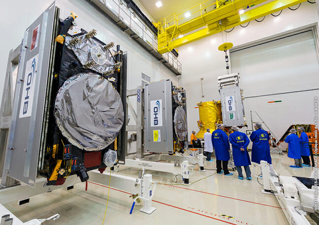 Ariane 5 Mission with 4 Galileo Satellites set for Dec. 12 Liftoff