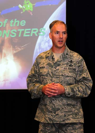 Exit Interview: GPS Directorate's Col. Bernie Gruber