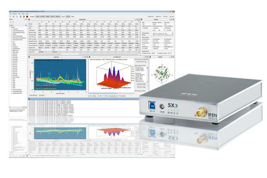 IFEN Launches SX3 Software Receiver