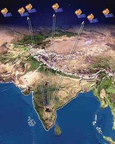 Tracking IRNSS Satellites