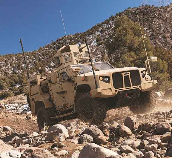 GPS Networking to Supply Oshkosh's Joint Light Tactical Vehicle Contract