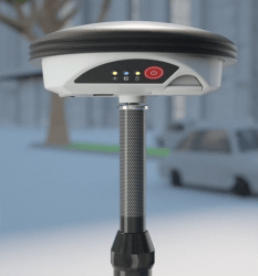 Leica Zeno GG04 Smart Antenna Aids GNSS Accuracy with RTK, PPP