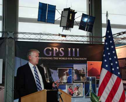 Lockheed Martin Unveils GPS Exhibit at the United Nations in Vienna