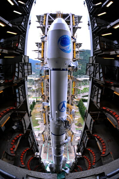 China Launches Another Compass/Beidou-2 GEO Satellite