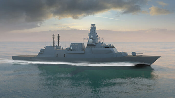 NovAtel's GPS Anti-Jam Technology Chosen for the UK's Type 26 Frigate Vessels