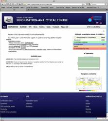 Russia Introduces New GLONASS Constellation Status Website