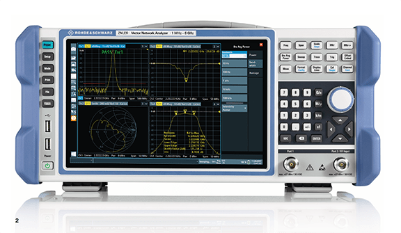 Rohde & Schwarz Launches Compact, Lightweight R&S ZNLE Vector Network Analyzer