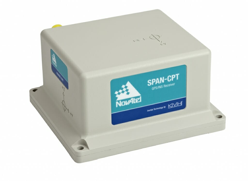 NovAtel Upgrades SPAN-CPT with OEM6 GNSS