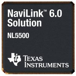 Texas Instruments Launches GPS/Bluetooth/FM Chip