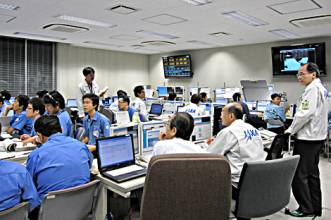 Tanegashima space center control room.jpg