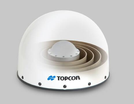 Topcon Introduces Full-Spectrum GNSS Geodetic Antenna