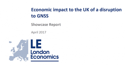 UK Study Indicates Just How Costly a GNSS Disruption Can Be