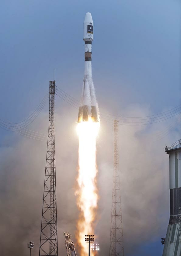 They Are Up! EU Launches First Galileo IOV Satellites
