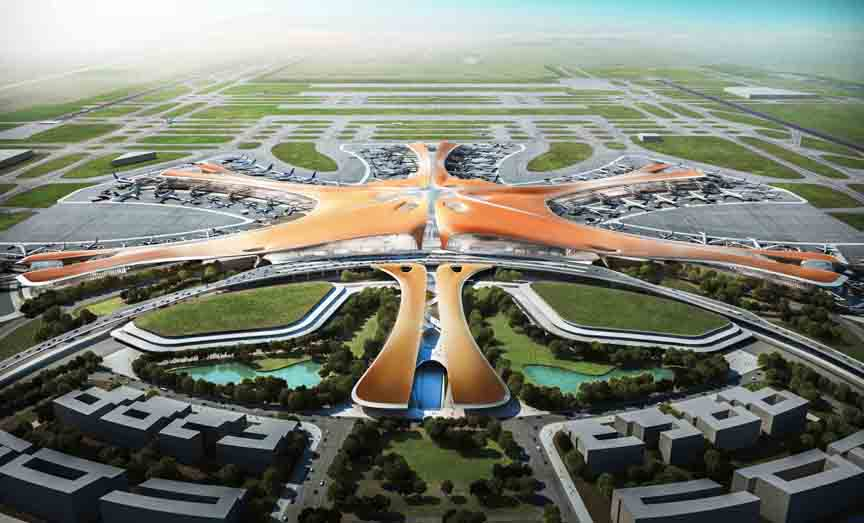 New Beijing Airport Extends Trimble Integrated Construction Contract