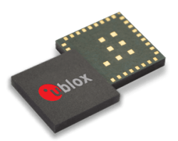 u-blox GNSS Module Used in Trackable Pallet