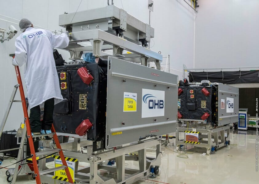 OHB SE Sends Off Galileo Satellites