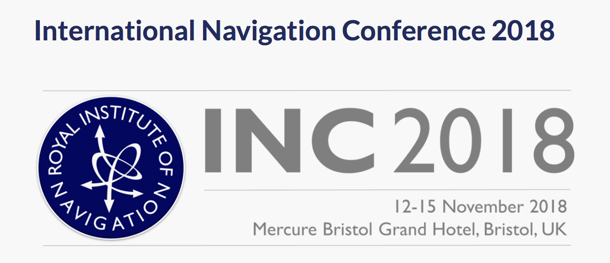 International Navigation Conference 2018