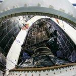 The U.S. Air Force's first Lockheed Martin-built GPS III satelli