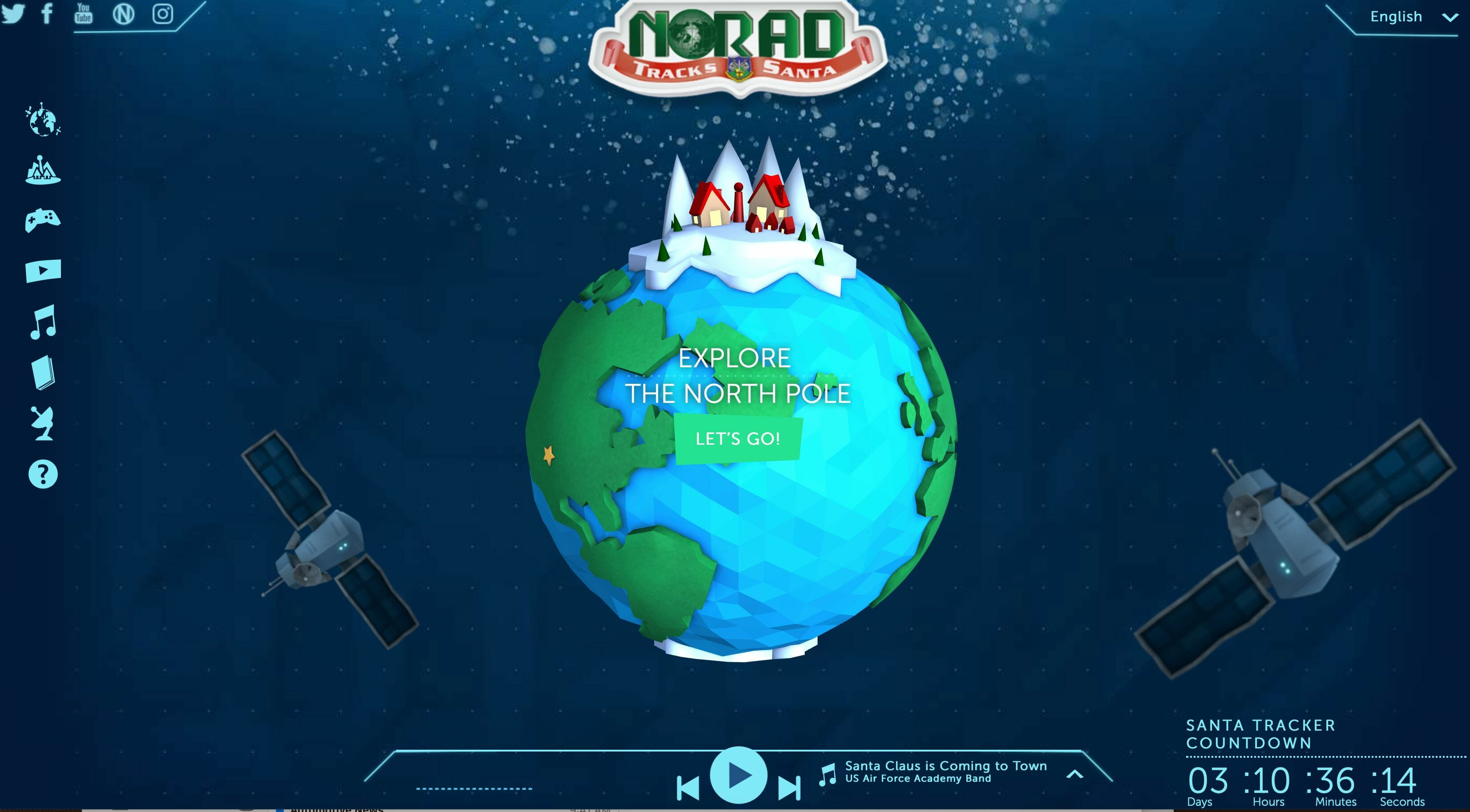 use NORAD