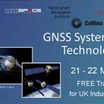 Free Training Event on GNSS Systems and Technology for UK industry and SMEs