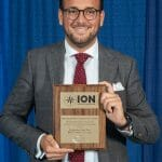 Dr. Santiago Perea Diaz Receives Prestigious Bradford W. Parkinson Award at ION GNSS+