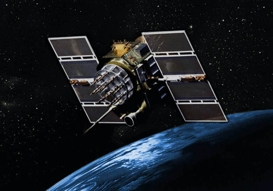 GPS IIA satellite, image courtesy U.S. Air Force