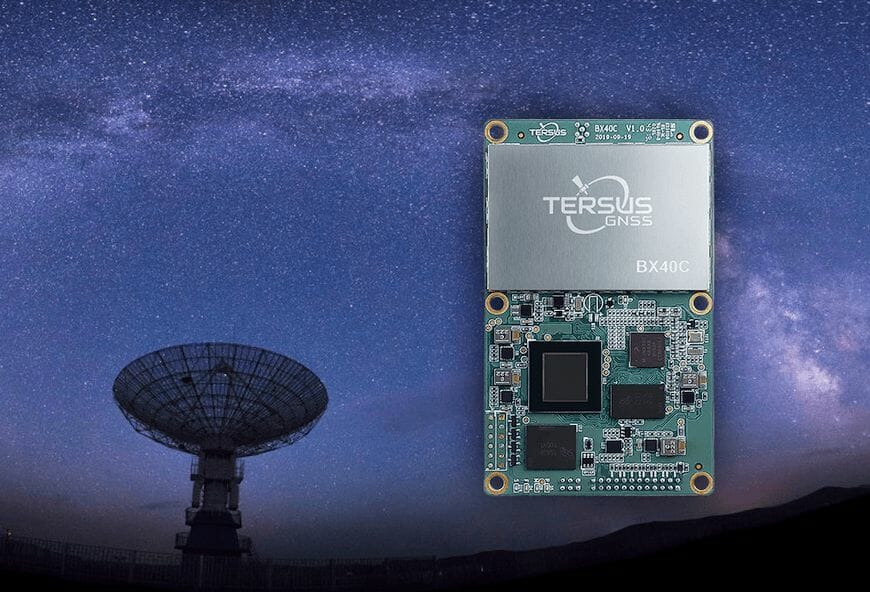 BX40C GNSS RTK board, courtesy Tersus