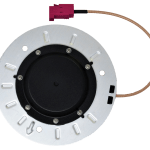 New Embedded Triple-Band GNSS Antennas for Autonomous Vehicles