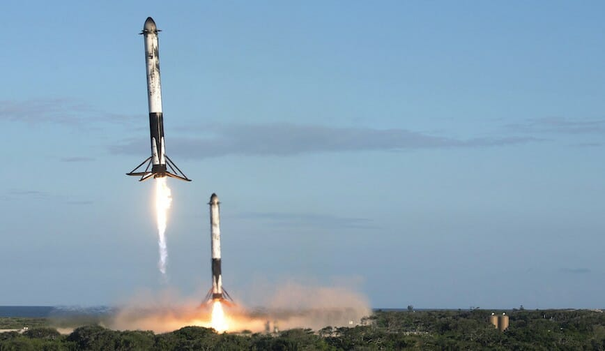 45th SW supports second successful Falcon Heavy launch