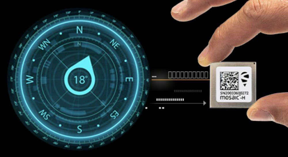 GPS/GNSS heading module