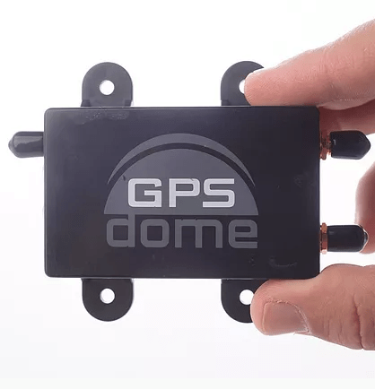 GPSdome fingers