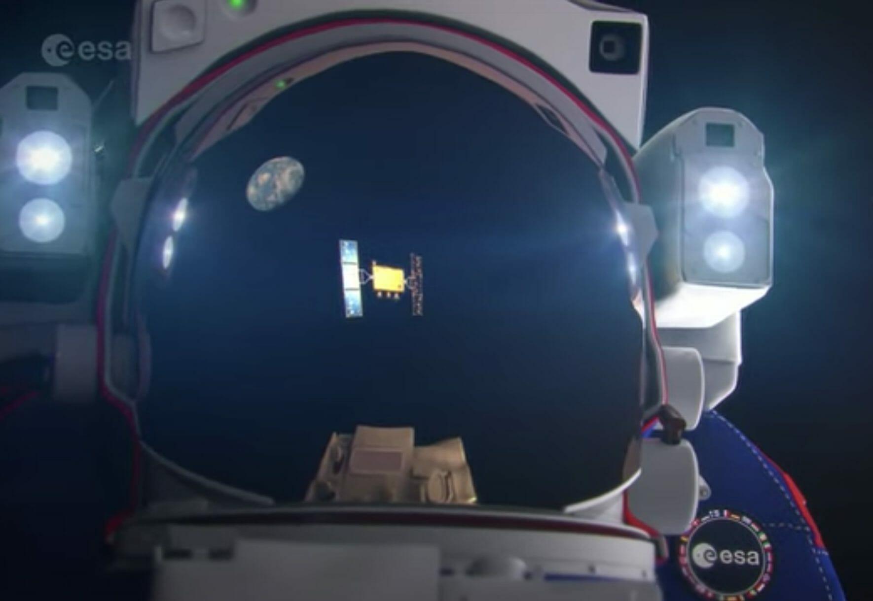 Still from ESA video