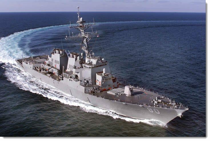 USS Roosevelt destroyer